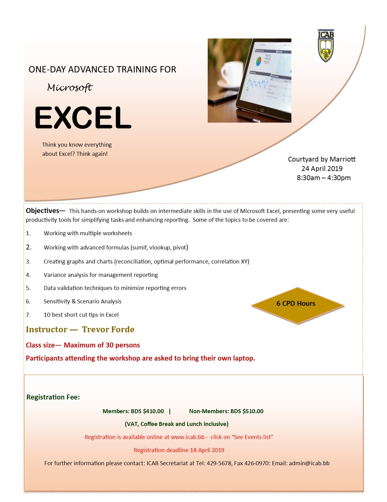 Advanced Excel for Professionals