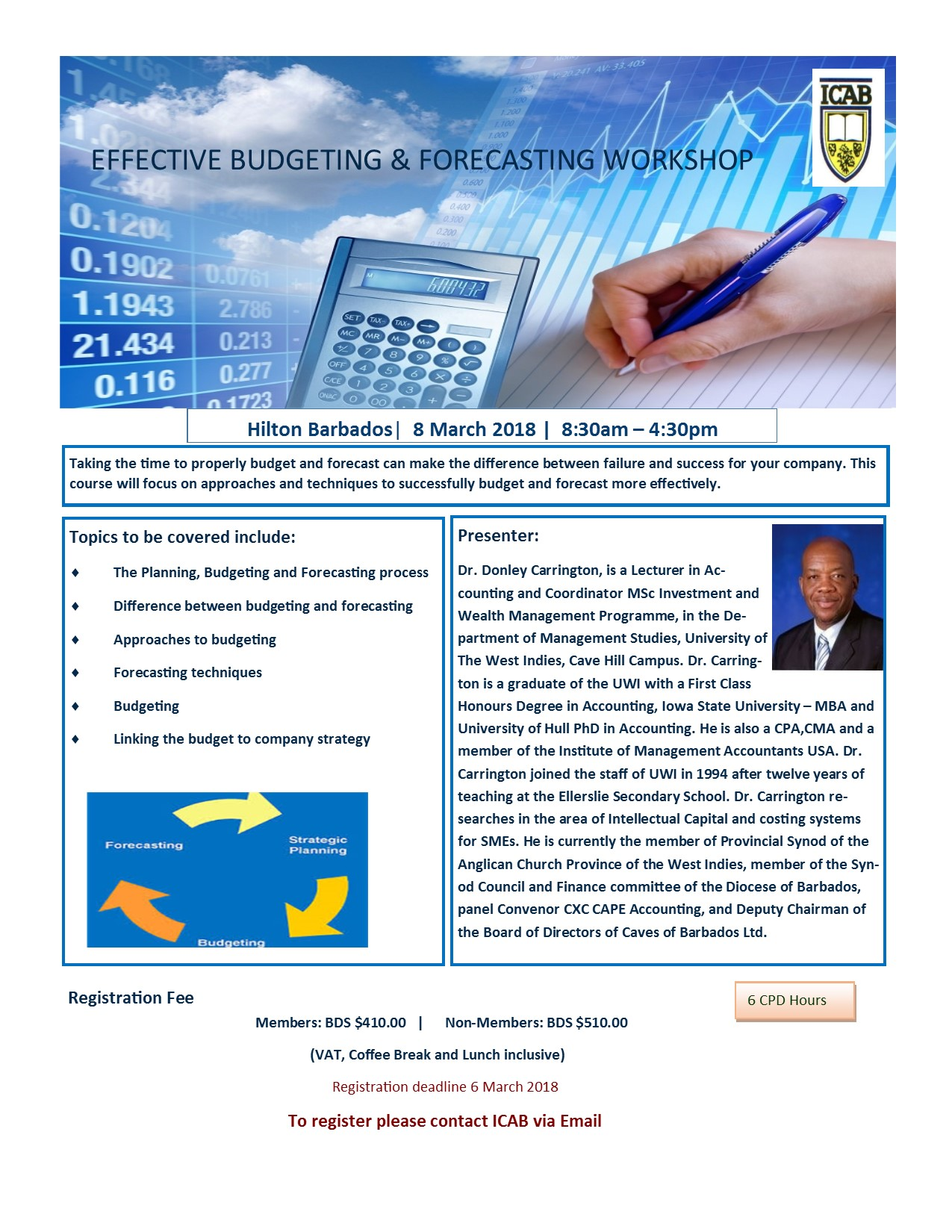 Effective Budgeting and Forecasting Workshop